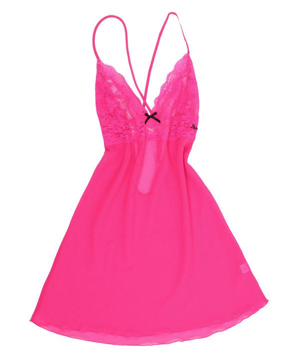 Shine Love睡衣|心爱情诗短款吊带睡裙(T裤+大腿圈)SL43072