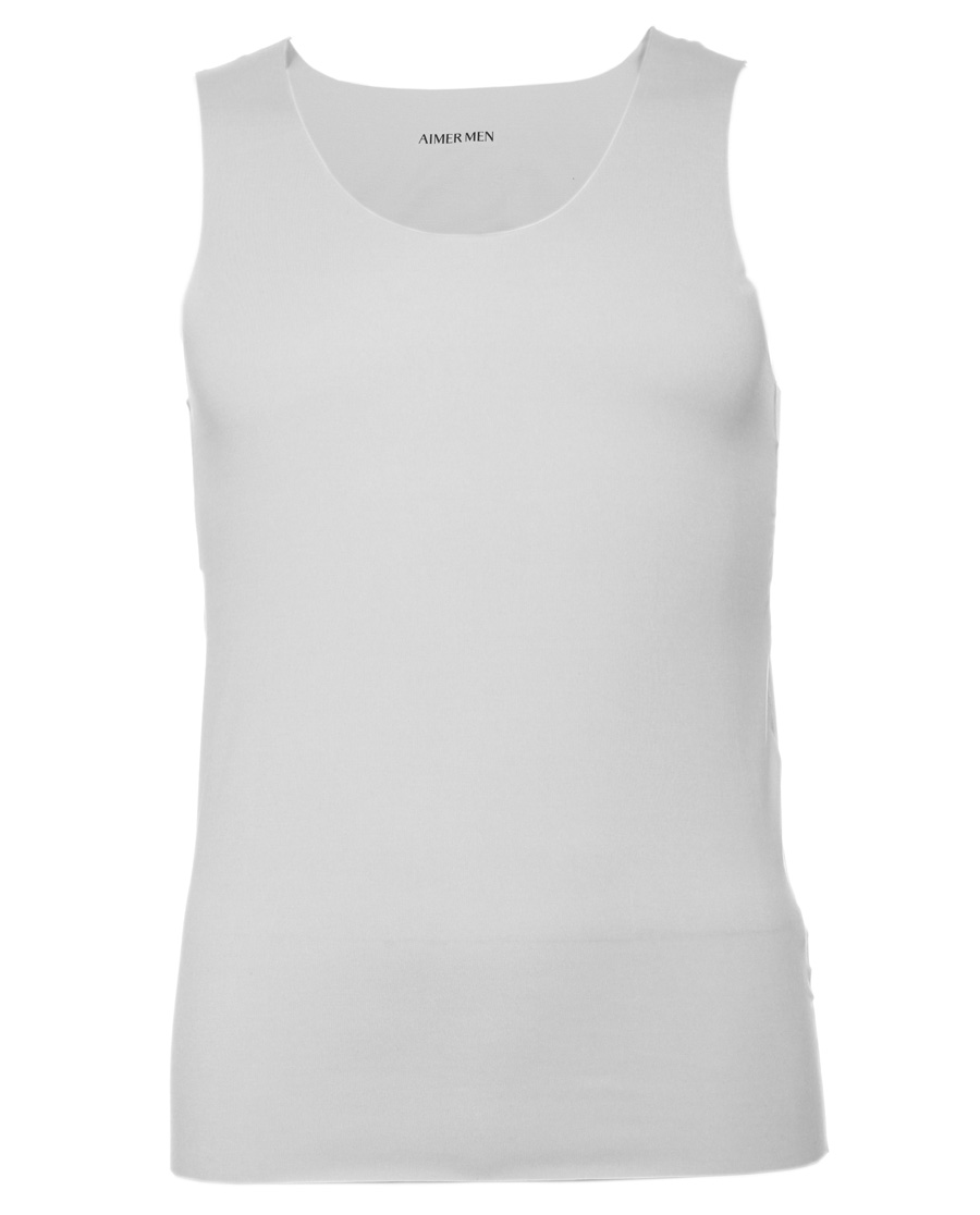 Aimer Men基礎內衣|愛慕先生莫代爾背心式上衣NS11F61