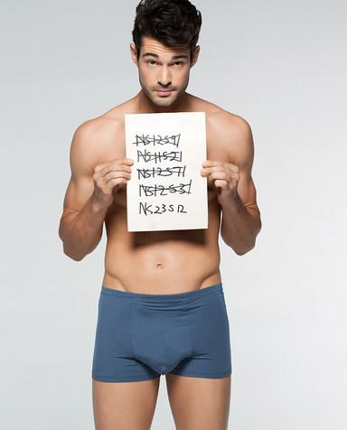 Aimer Men内裤|爱慕先生莫代尔中腰平角内裤NS23S12