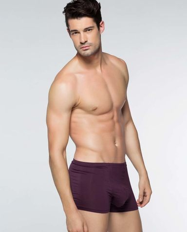 Aimer Men内裤|爱慕先生莫代尔中腰平角内裤NS23S11