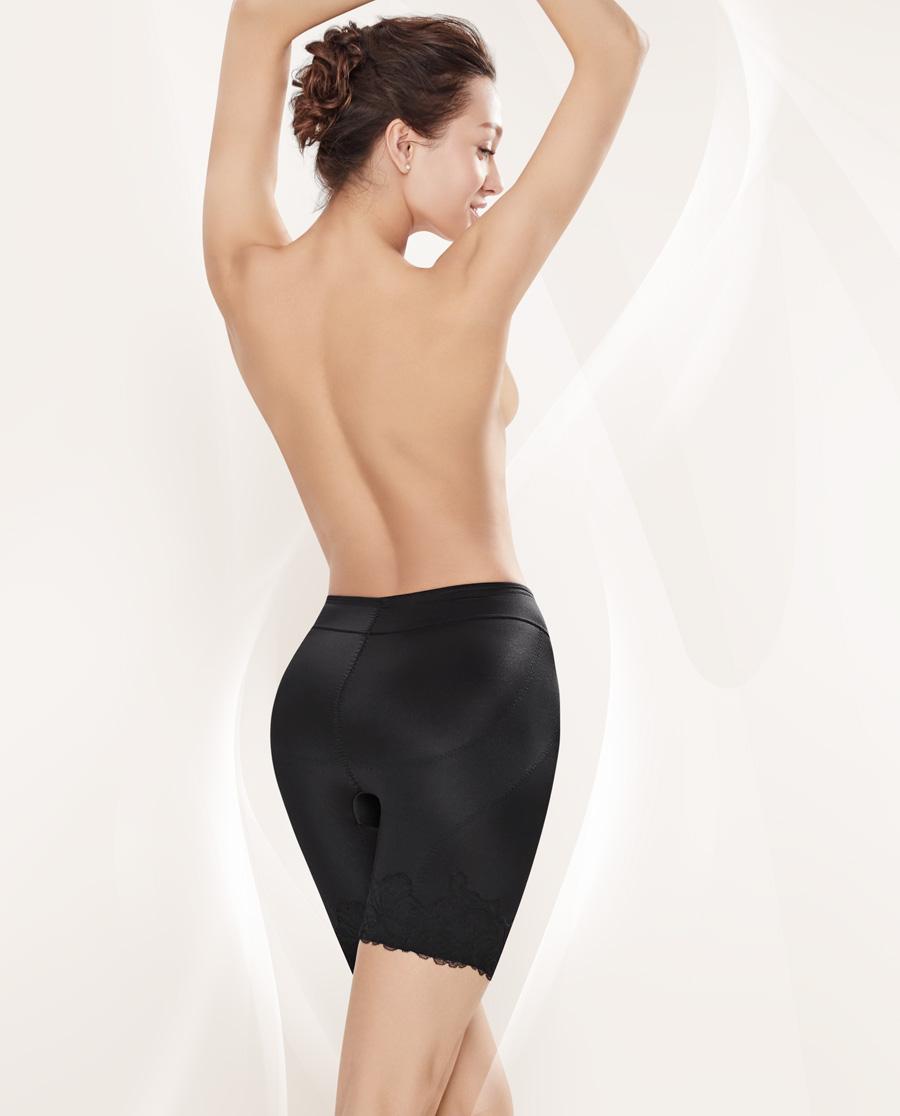 MODELAB美体|爱慕慕澜塑裤群中型中腰长腿塑裤AD33987