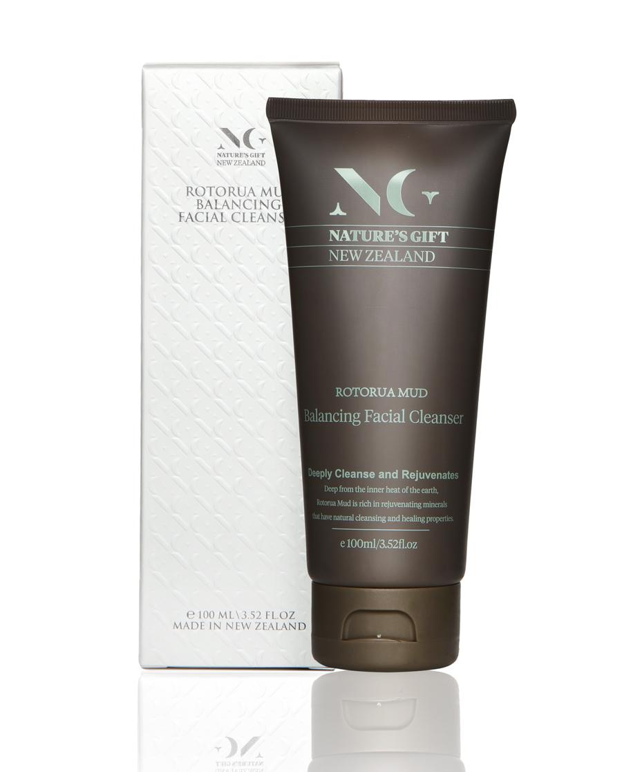 Nature's Gift护肤|纽格芙罗托鲁阿火山泥净透平衡洁面乳NG1
