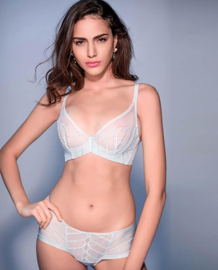 Aimer内裤|爱慕贝壳岛屿女士低腰平角内裤AM230401