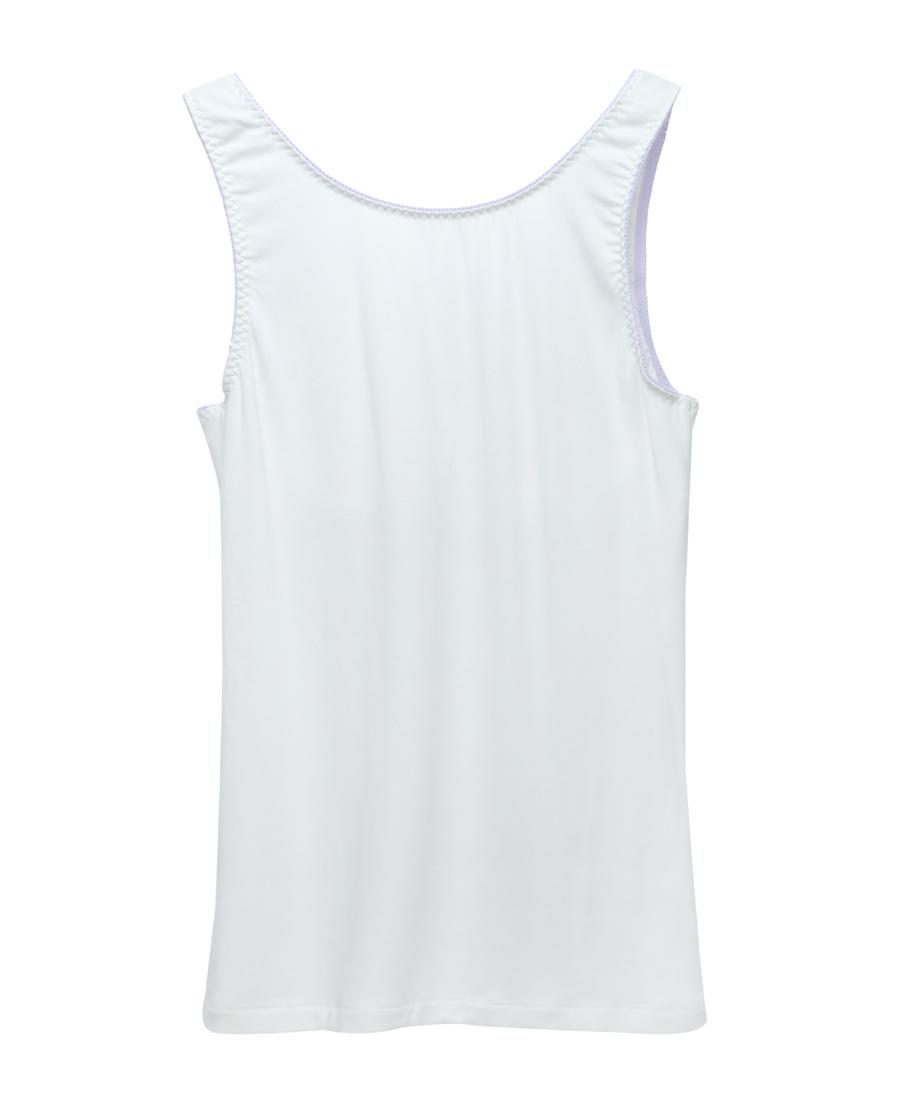 Aimer Kids睡衣|爱慕儿童蕾丝奶茶插杯长款背心AJ1112