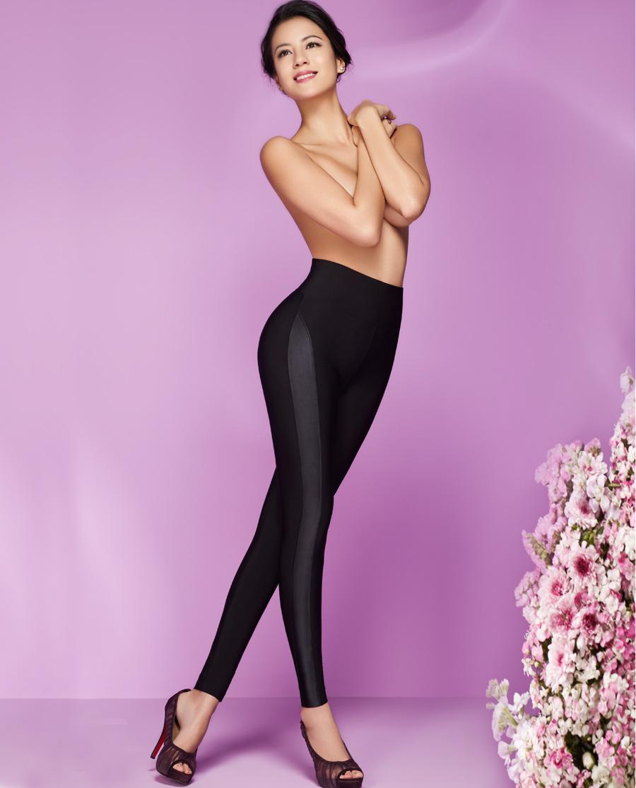 MODELAB美体|爱慕慕澜缎舞香姿轻型长腿美腿裤AD73A21