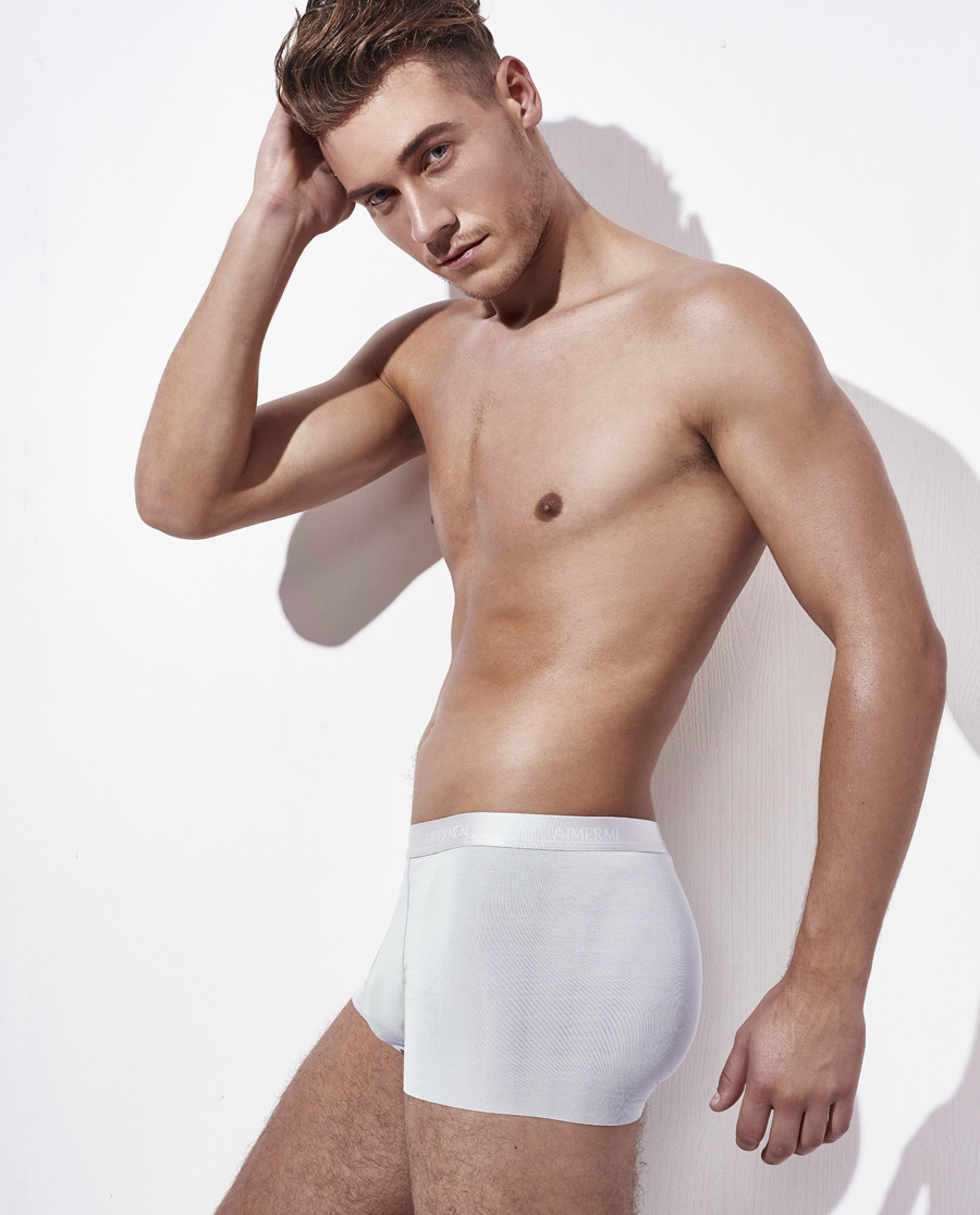 Aimer Men内裤|ag真人平台先生云享中腰平角内裤NS23U42