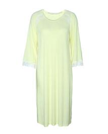 爱慕舒享花园八分袖中长款睡裙AM440351