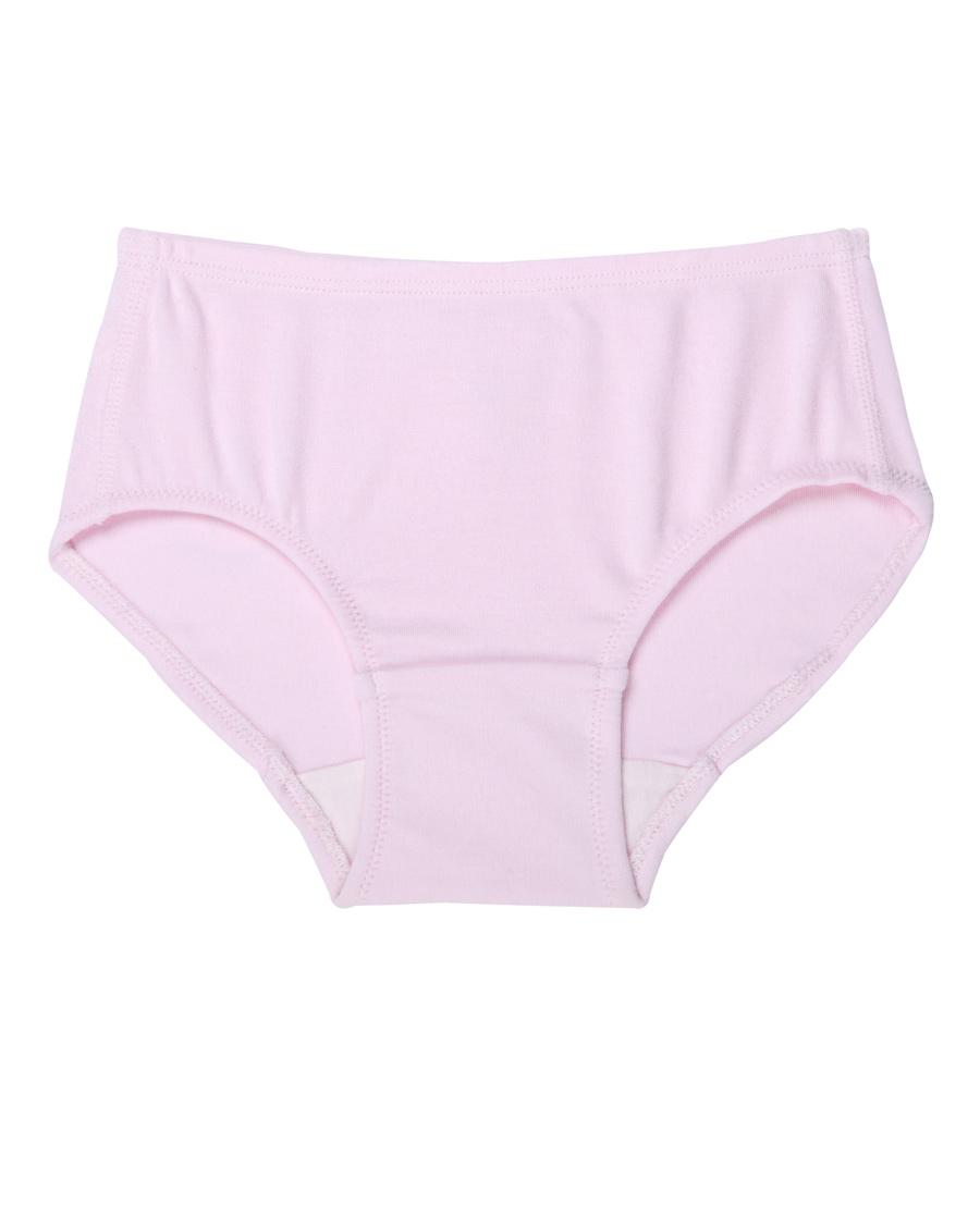 Aimer Kids内裤|爱慕儿童牛奶萌小裤女宝中腰三角裤AK42