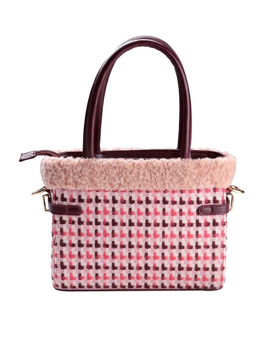 Aimer Home配饰|爱慕家品温暖冬日方型手提包AC05601