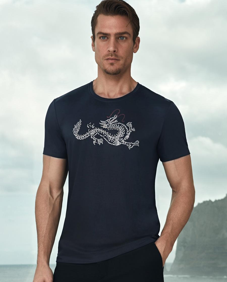 Aimer Men睡衣|爱慕先生限量创意圆领短袖T恤NS81A141