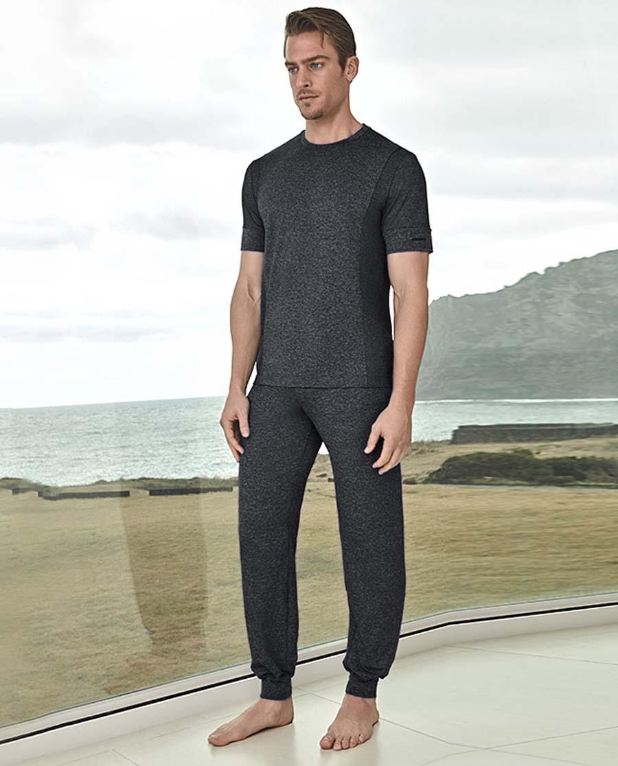 Aimer Men运动装 爱慕先生炫酷运动长裤NS63A111