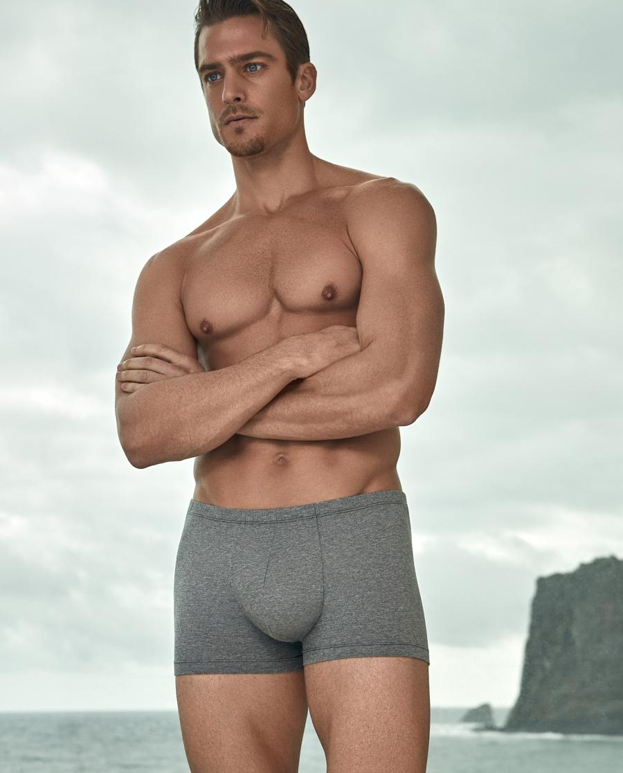 Aimer Men内裤|爱慕先生与植有染中腰平角内裤(两条装)