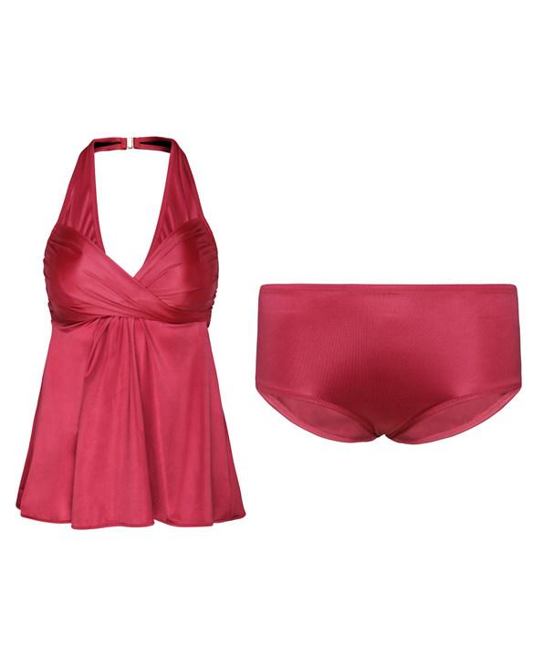 Aimer泳衣|爱慕罗马假日分体泳衣AM670731