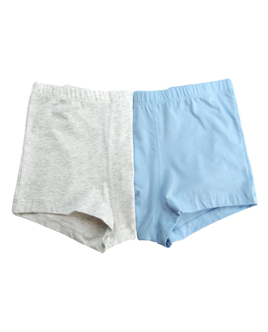 Aimer Junior内裤|爱慕少年2件装 纯色青春低腰平角裤两件包AJ223341
