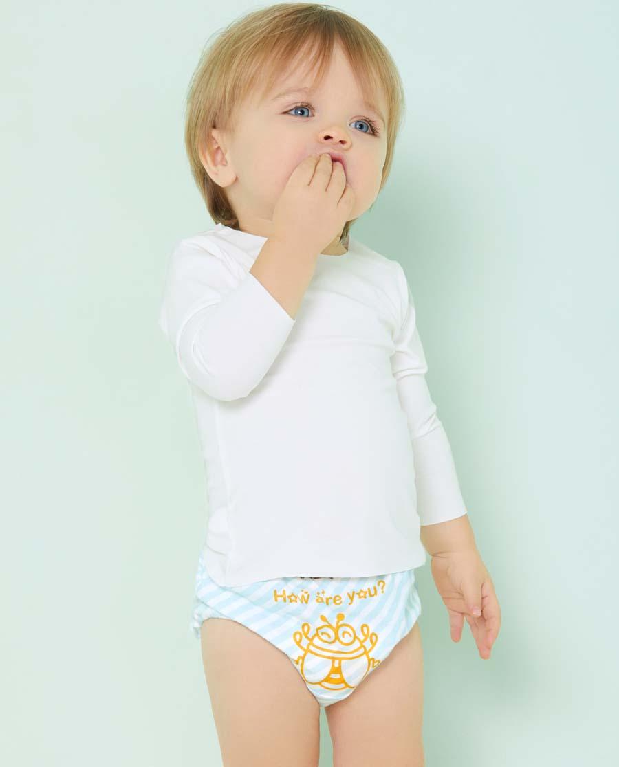 Aimer Baby内裤|爱慕婴儿昆虫记中腰三角内裤(2条装)AB322451