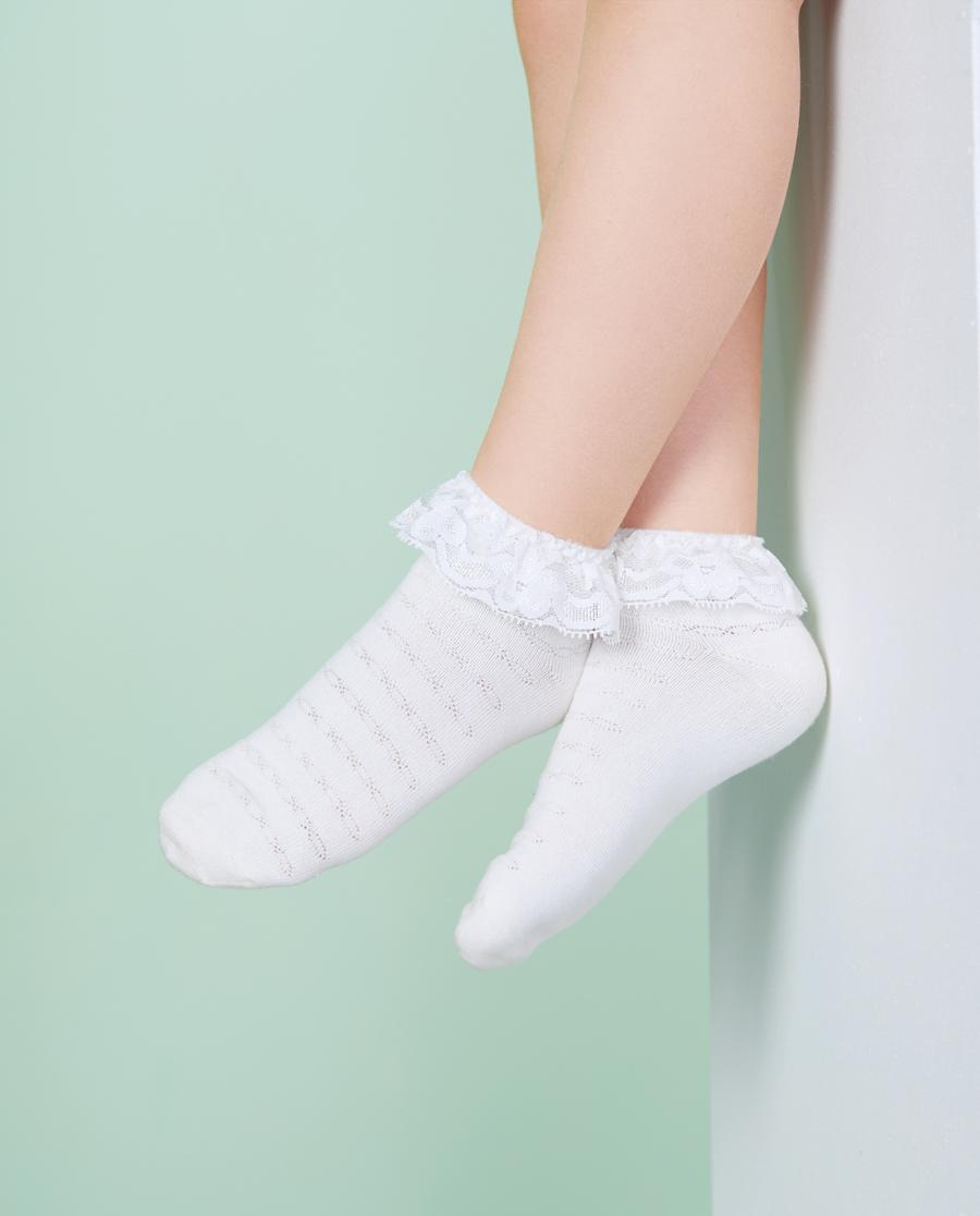 Aimer Kids袜子|爱慕儿童袜子短筒袜短袜袜子AK194S3