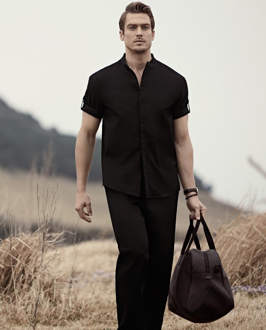 Aimer Men睡衣|爱慕先生亚麻外穿长裤NS82A181