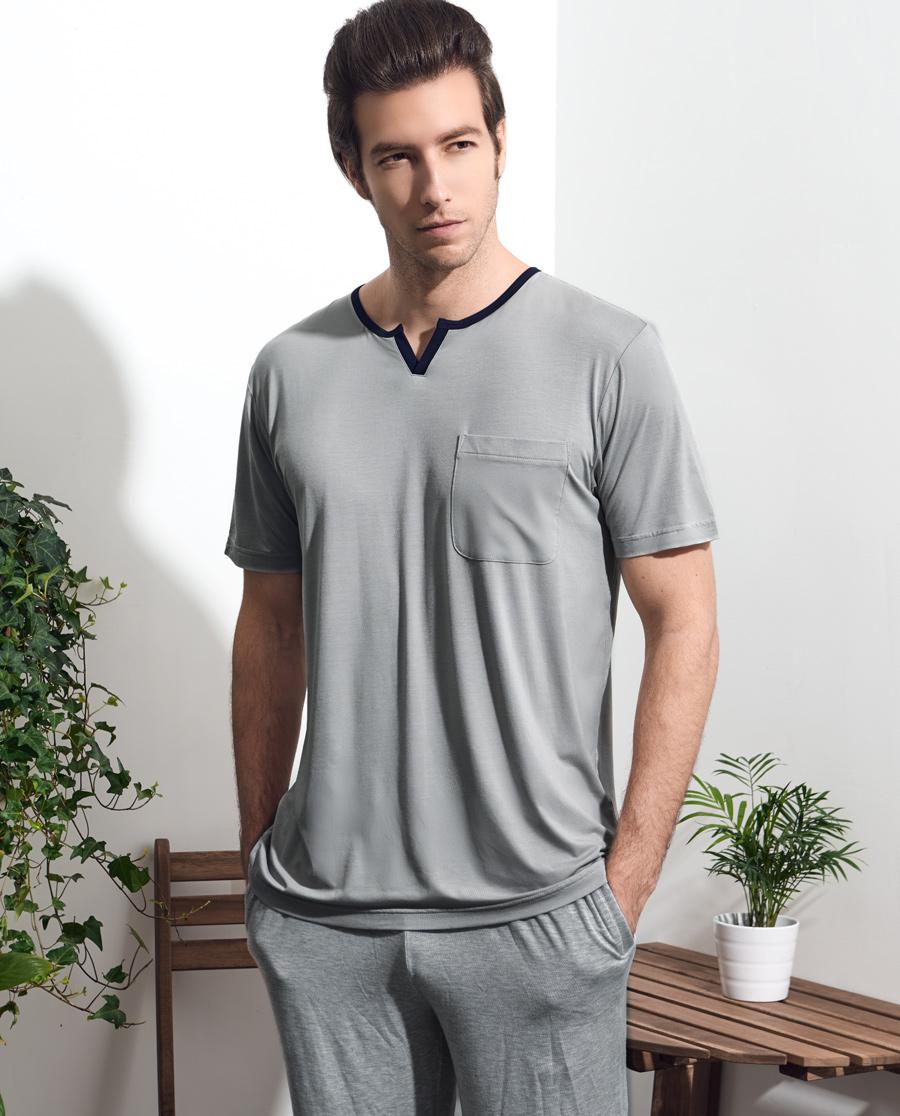 宝迪威德优选享棉生活短袖+短裤家居套装ZBN43GW1