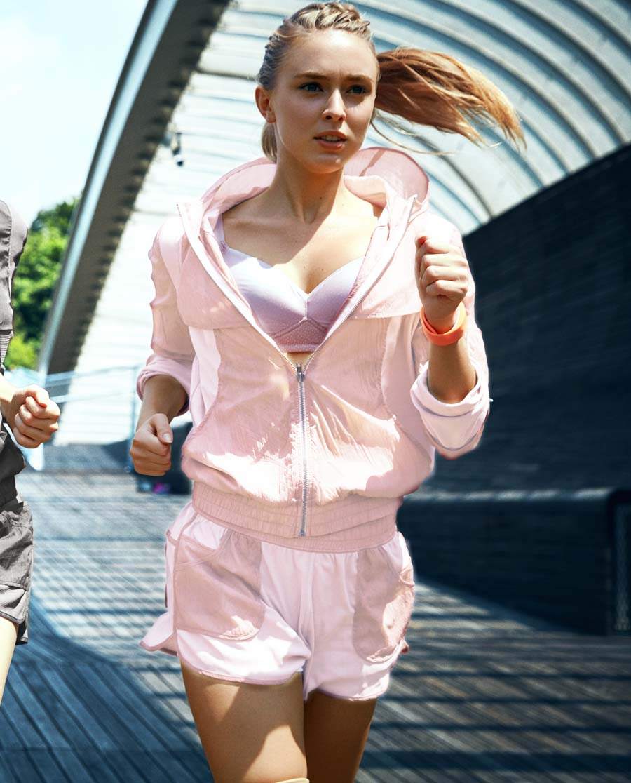 爱慕运动COOL SPORTS II运动短裤(两件套)AS151821