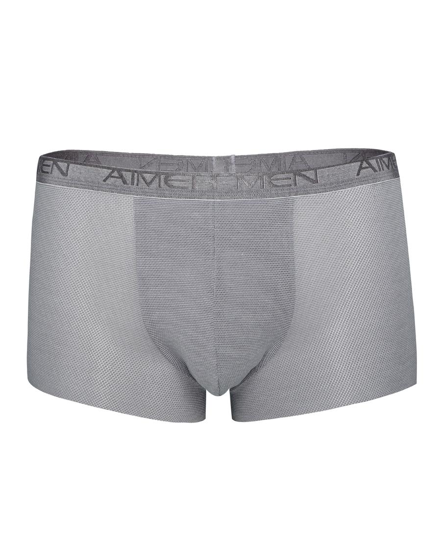 Aimer Men内裤|爱慕先生网眼中腰平角裤NS23A021