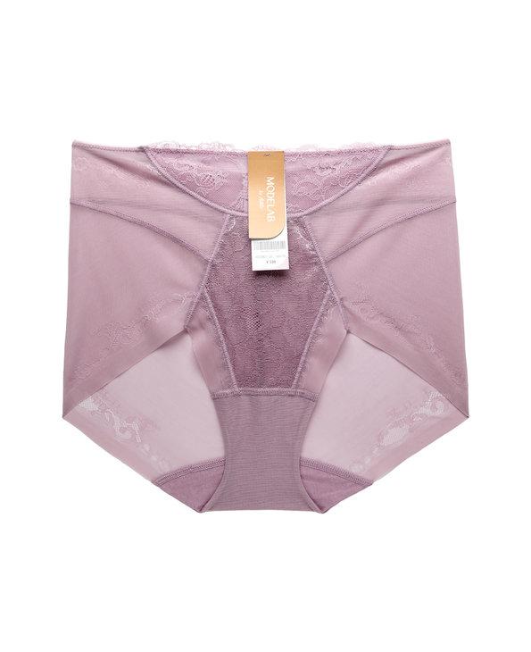 爱慕慕澜静享花园轻型中腰短款塑裤AD33B21