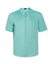 爱慕先生亚麻开衫短袖NS81A182