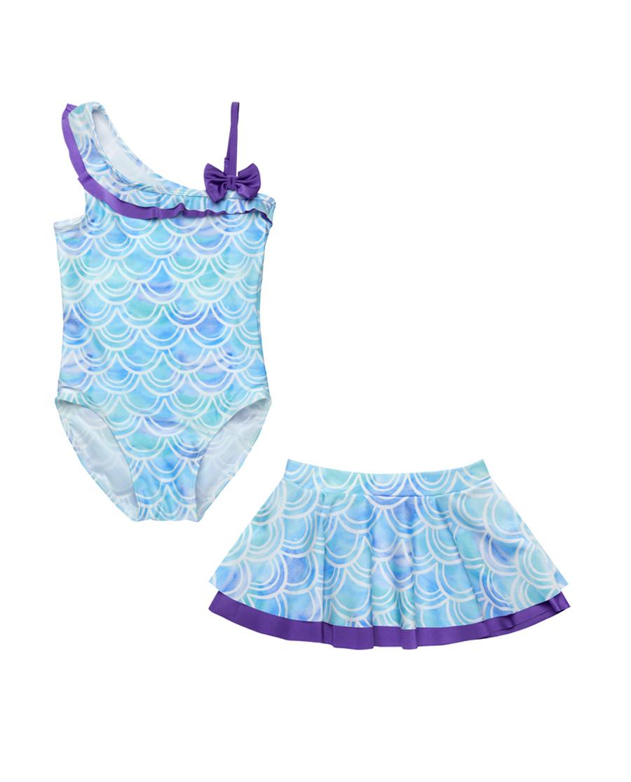 Aimer Kids泳衣|爱慕儿童美人鱼连体泳衣AK167S12