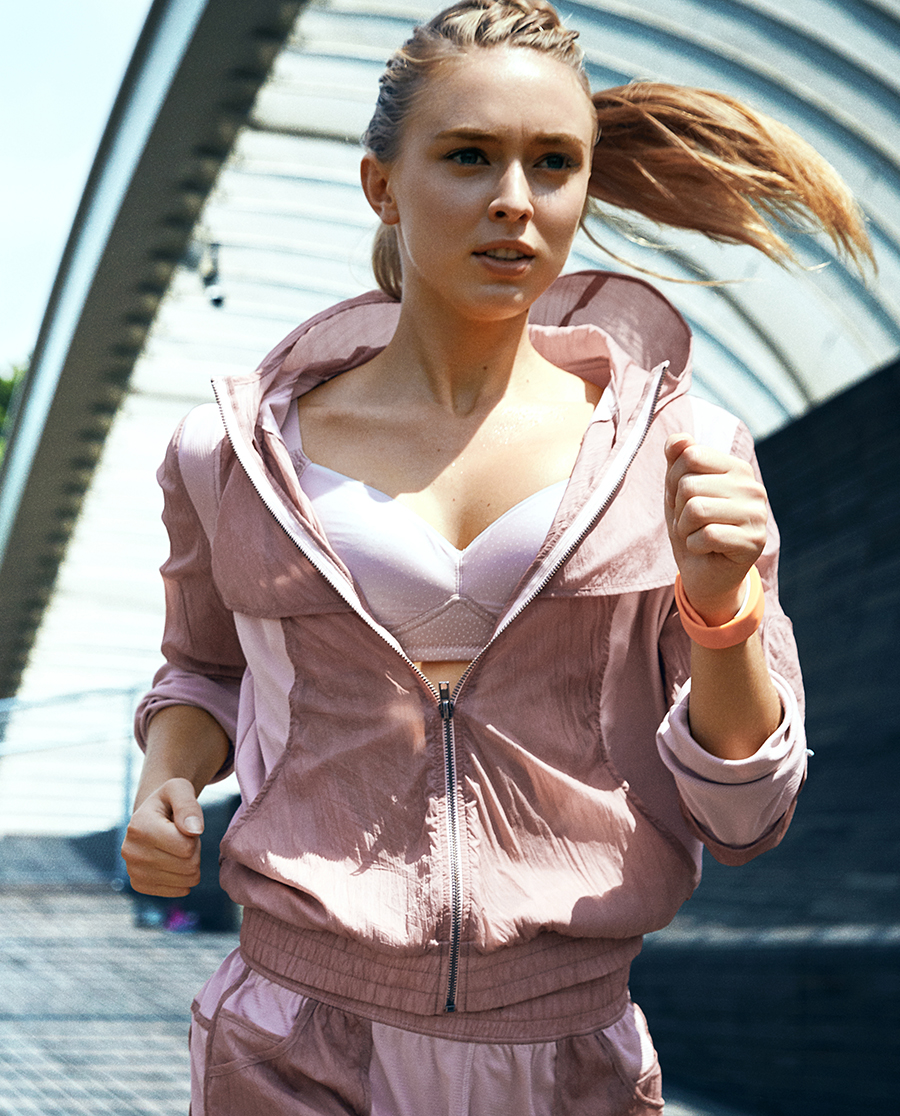 Aimer Sports运动装|爱慕运动COOL SPORTS II运动开衫外衣AS144821