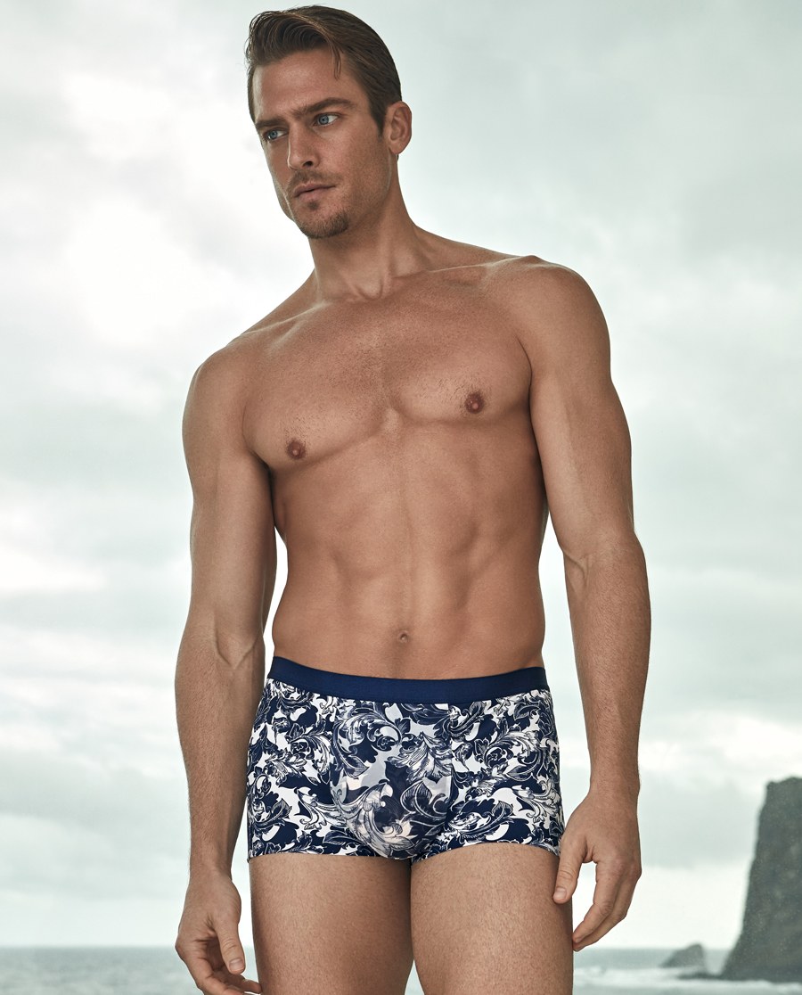Aimer Men内裤|爱慕先生U-space中腰平角内裤NS23A032