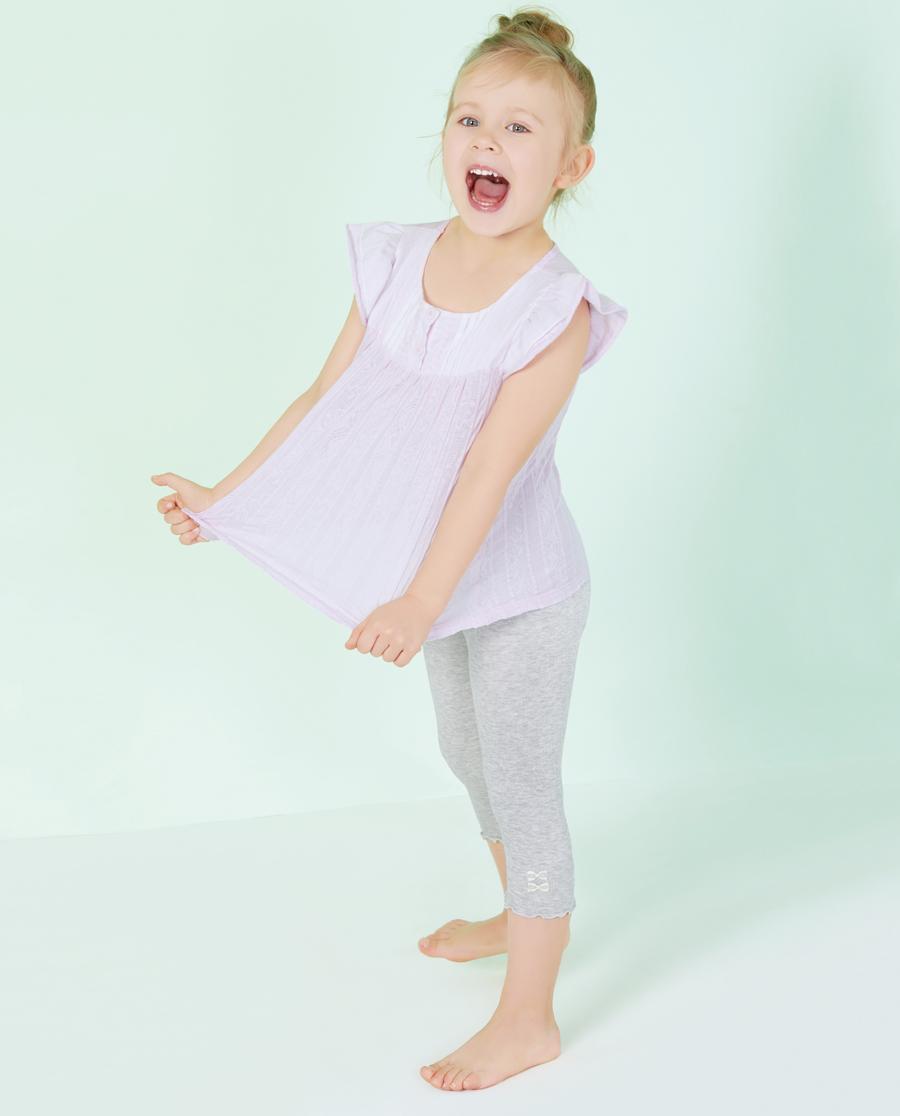 Aimer Kids睡衣|爱慕儿童甜美随享外穿七分裤AK182R51