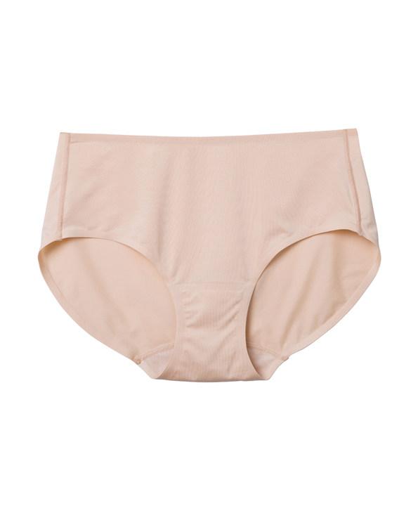 爱美丽简约光面中腰平角裤