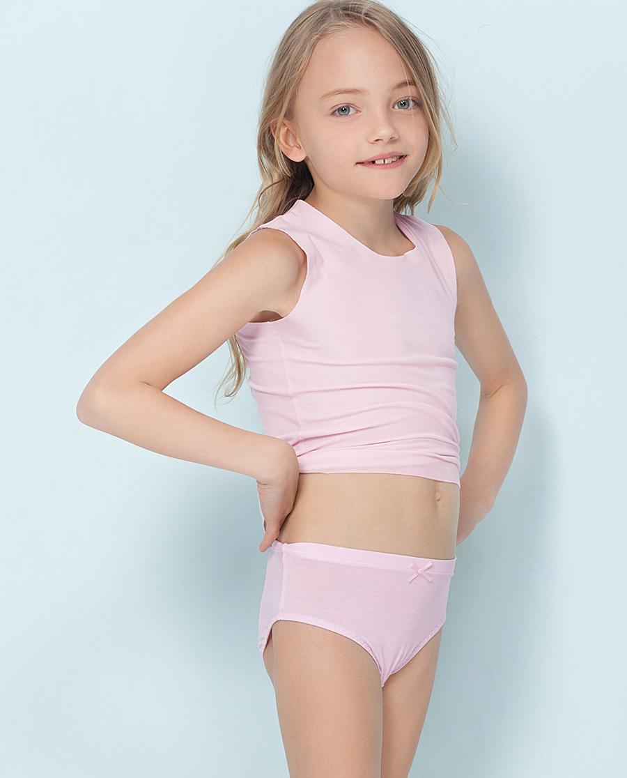 Aimer Kids内裤|爱慕儿童天使小裤女孩中腰三角内裤AK122I11