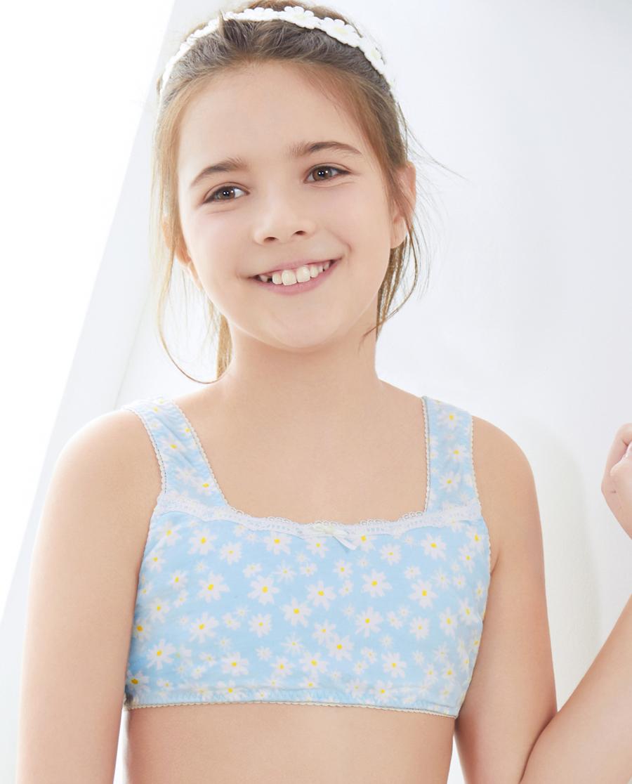 Aimer Kids文胸|爱慕儿童雏菊花开一阶段背心式无托文胸AJ115331