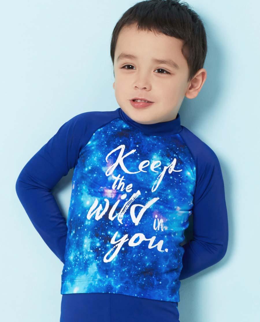Aimer Kids泳衣|爱慕儿童宇宙探险长袖泳衣AK267R71
