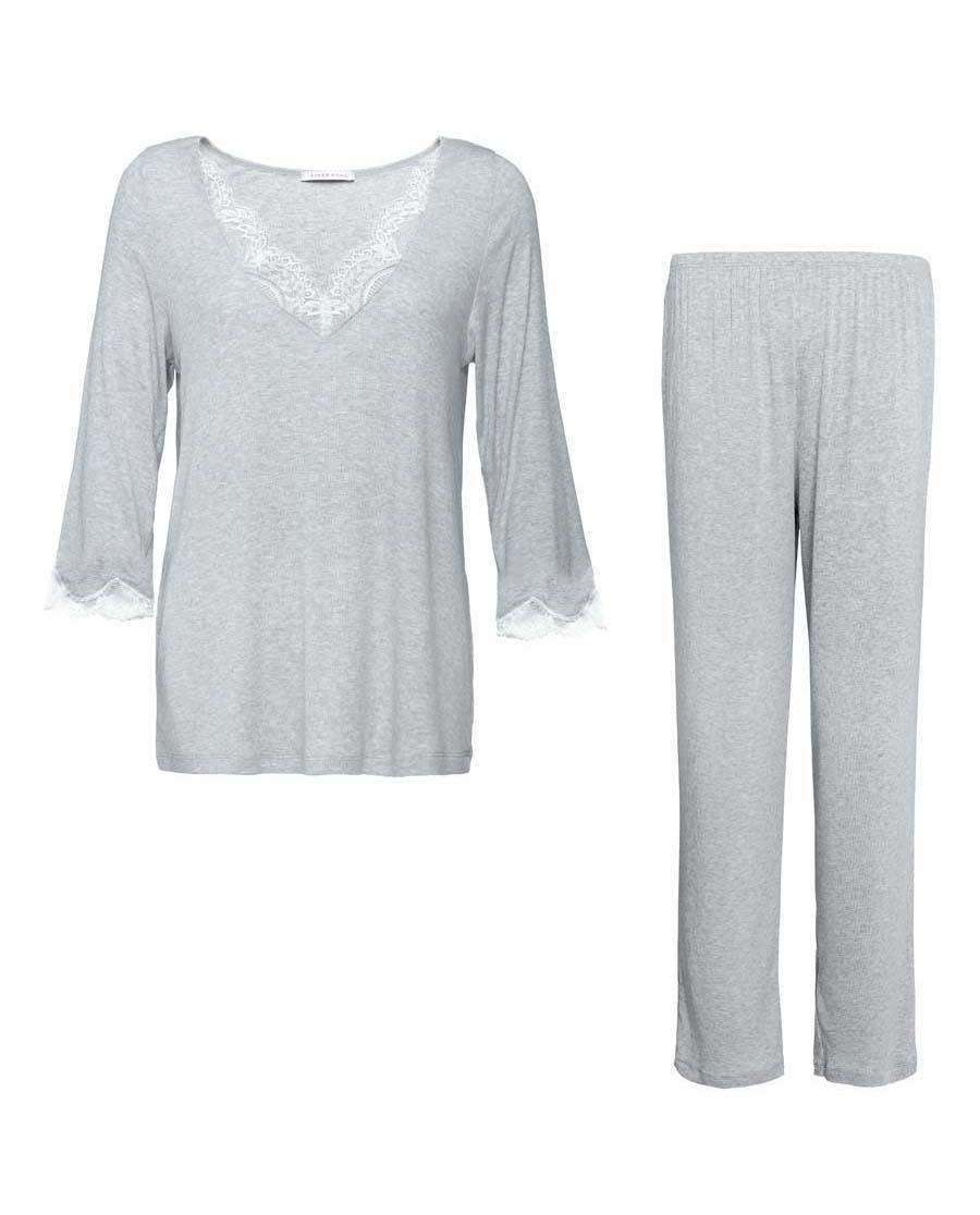 Aimer Home睡衣|爱慕家品柔语七分袖分身家居套件AH21G61