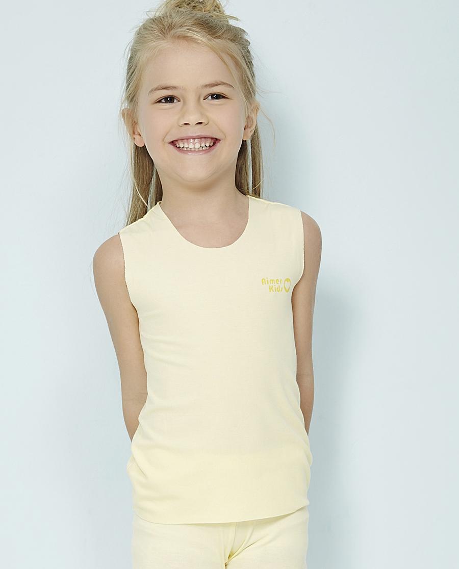 Aimer Kids睡衣|爱慕儿童FREE CUT-女孩背心上衣AK111G11