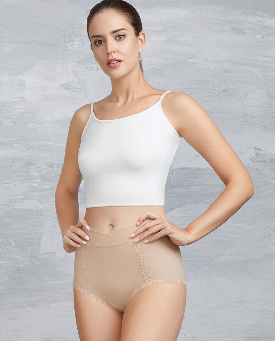 Aimer内裤|爱慕高腰平角生理内裤AM231271