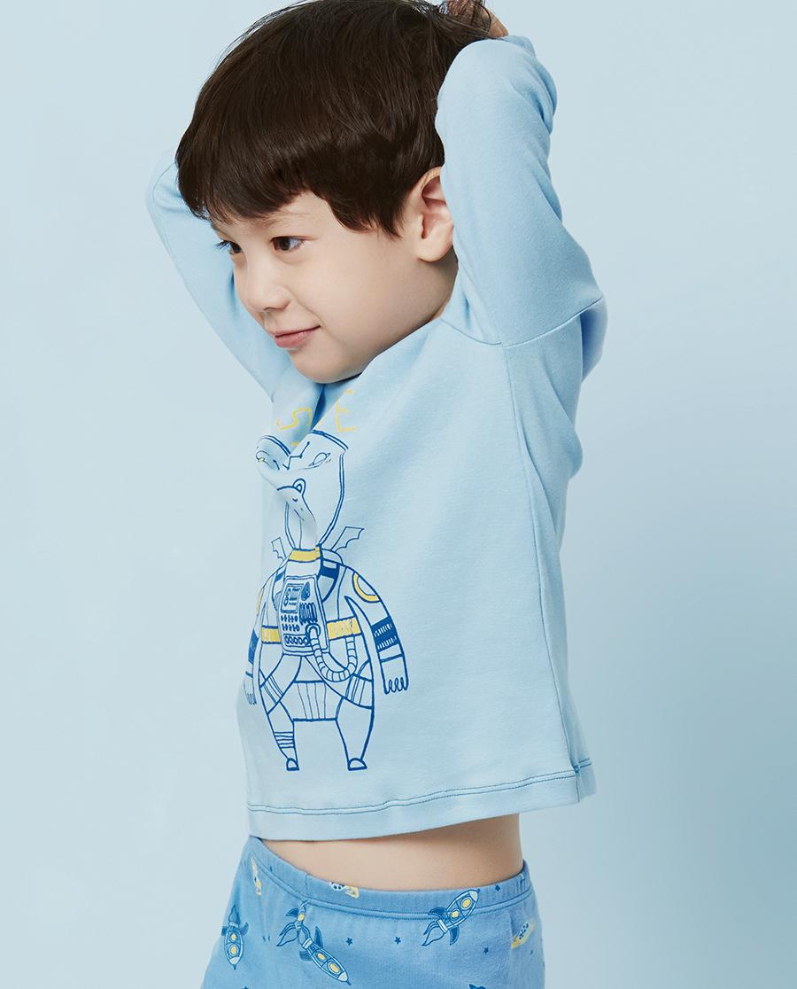 Aimer Baby保暖|爱慕婴儿太空幻想长袖上衣AB272T41
