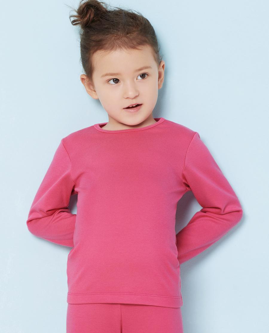 Aimer Kids保暖|爱慕儿童暖尚长袖针织上衣AK172P11