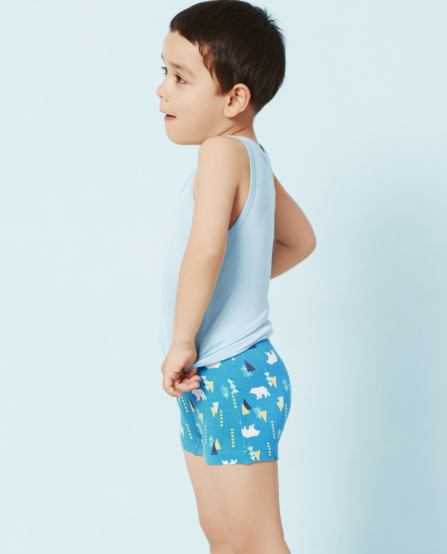Aimer Kids内裤|爱慕儿童熊出没中腰平角内裤(两件包)AK223S71