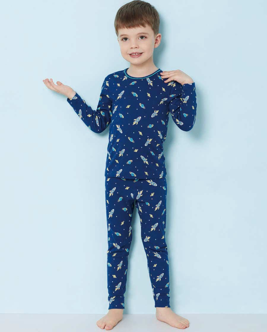 Aimer Kids睡衣|爱慕儿童太空幻想家居长裤AK273T41