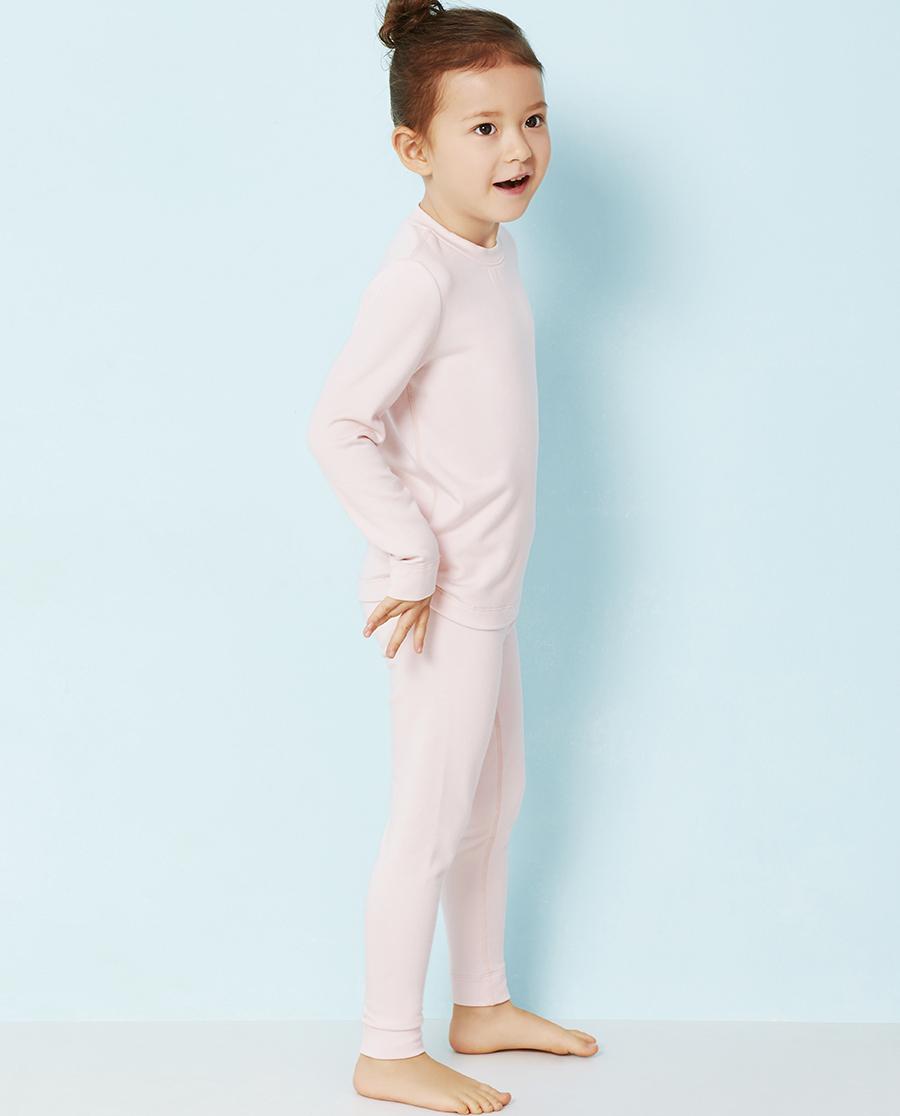 Aimer Kids保暖|爱慕儿童暖绒丝意针织长裤AK173T61