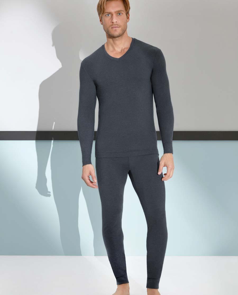 Aimer Men保暖|爱慕先生Warm+针织长裤NS73A341