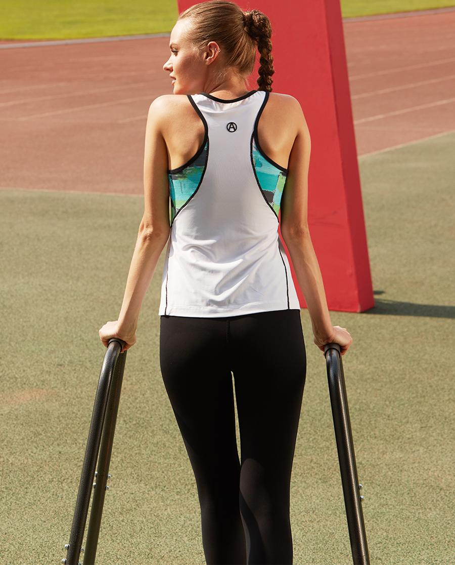Aimer Sports运动装 爱慕运动矿物颜料IV运动长裤AS153A91