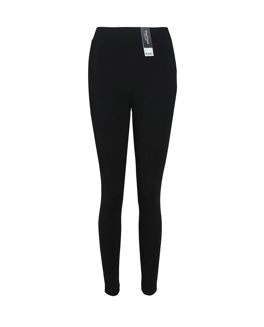 Shine Love睡衣|心爱时尚打底罗马布拼缝长裤SL73F32