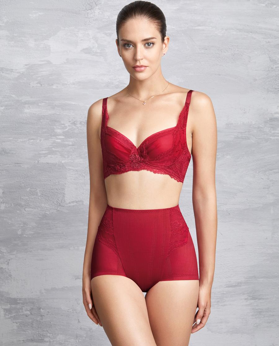 MODELAB美体|爱慕慕澜享塑中型中腰短款塑裤AD33B41
