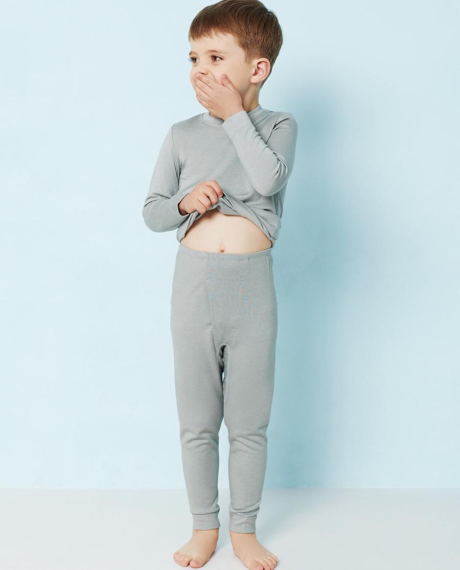 Aimer Kids保暖|爱慕儿童暖绒丝意针织长裤AK273T61