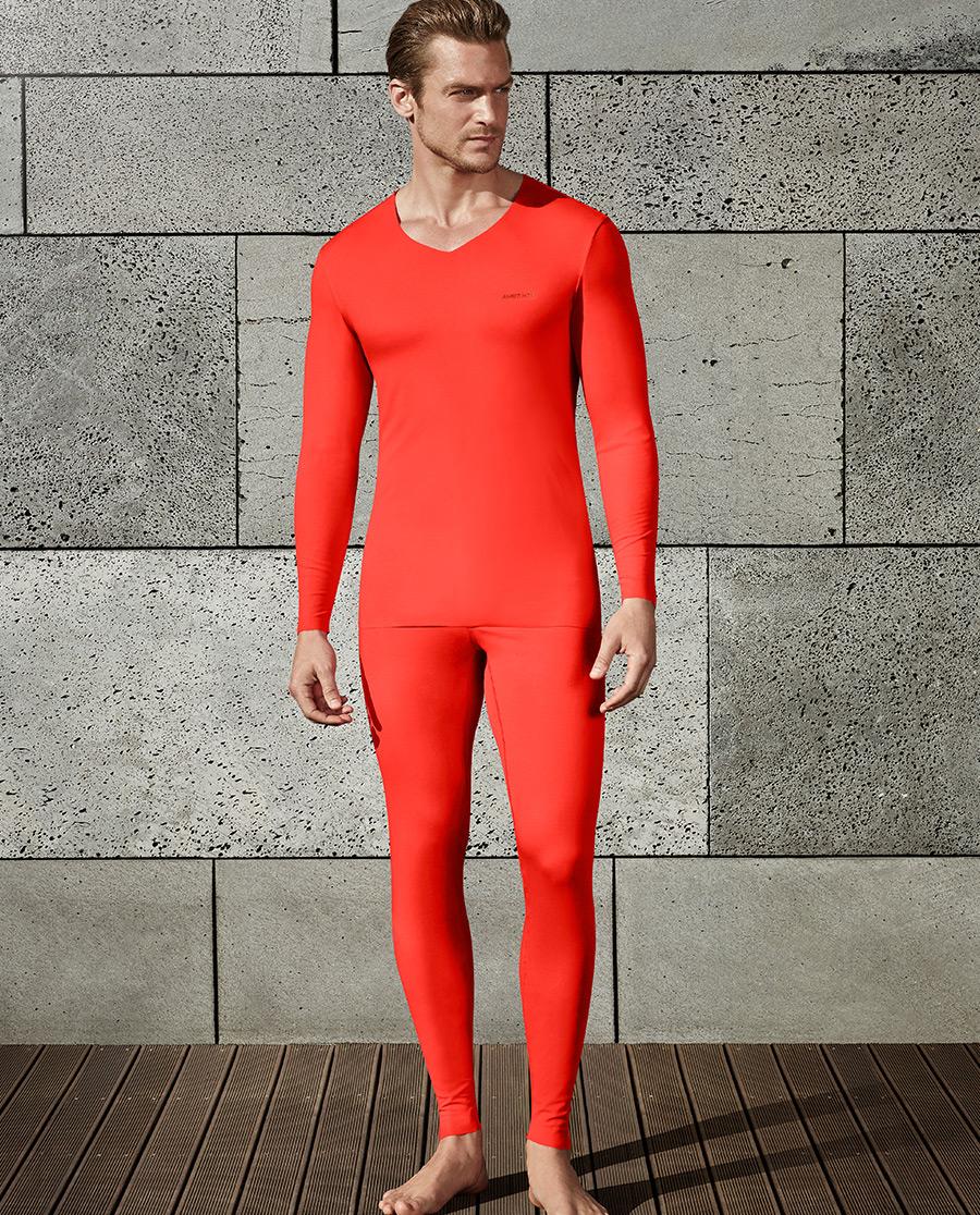 Aimer Men保暖 爱慕先生红品系列长裤NS73O31