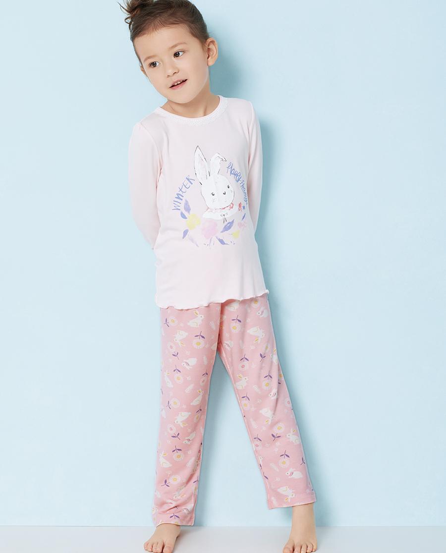 Aimer Kids睡衣|爱慕儿童秋日花园家居长裤AK142S81