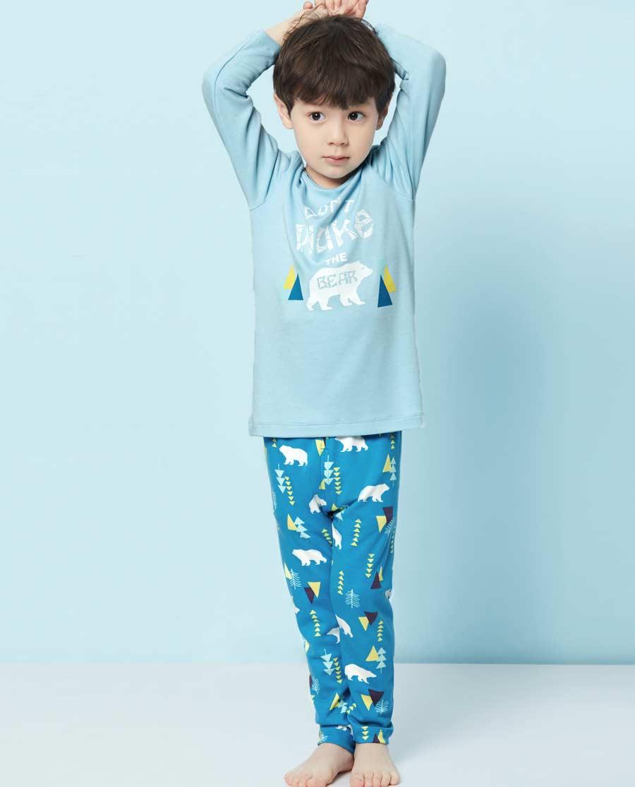 Aimer Kids睡衣|爱慕儿童森林漫步家居长裤AK242S81